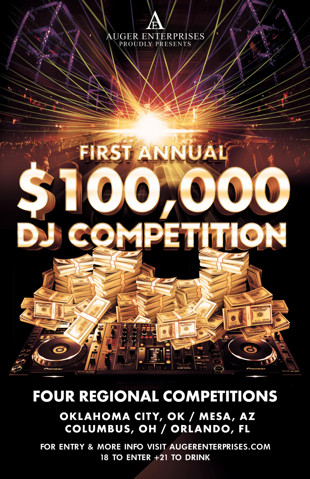 $100,000 DJ Competition (Western Region) Round 1 by Arizona