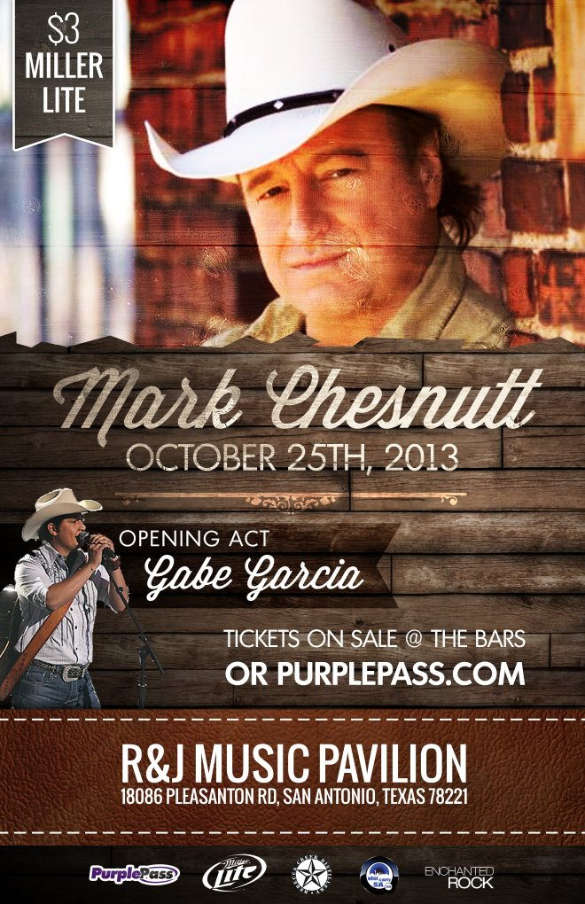 Mark Chesnutt R Amp J Music Pavilion Purplepass