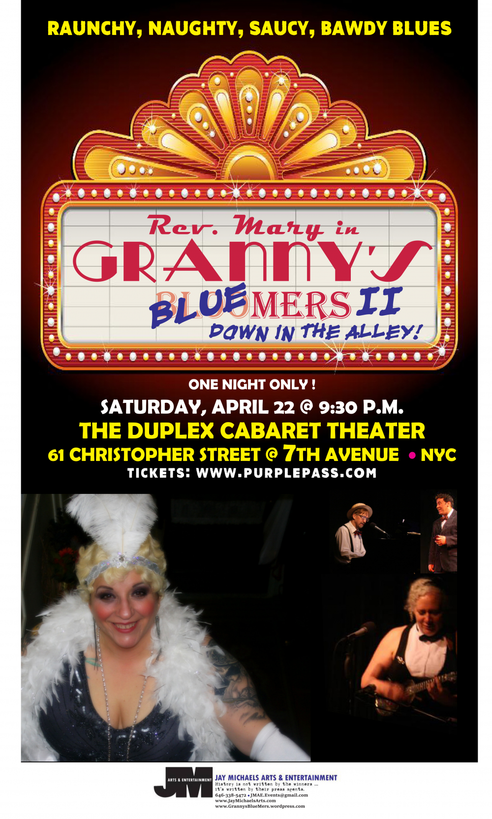 Humping Granny Good granny's blue-mers ii: down in the alleythe duplex on april 22