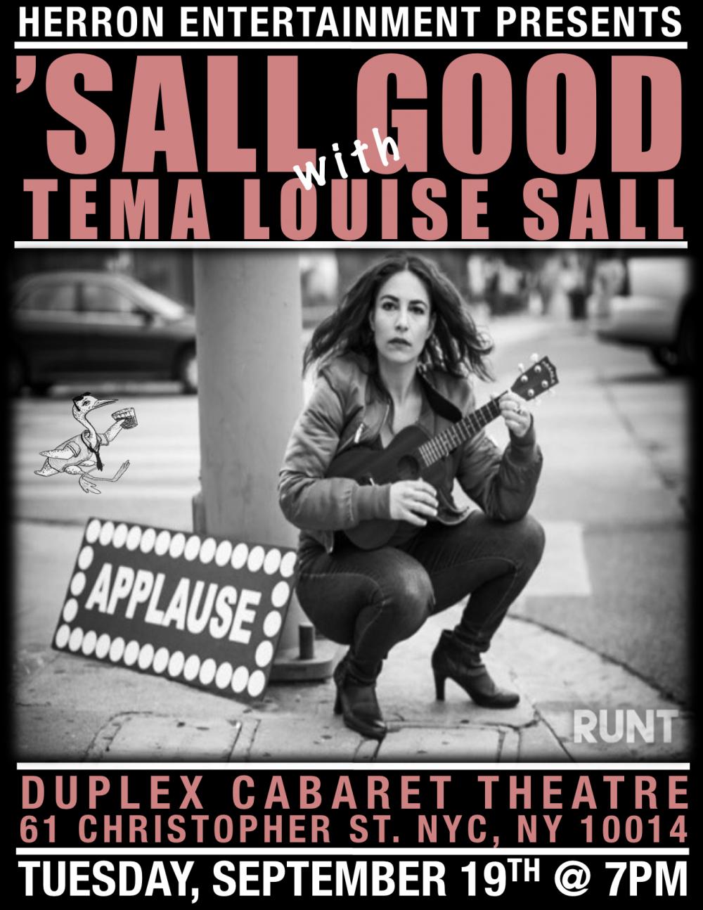 Sall Good With Tema Louise Sall Purplepass
