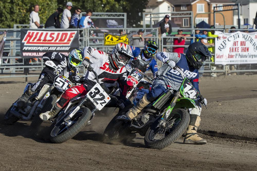 santa rosa championship proam flat track motorcycle race purplepass